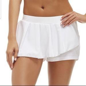 Fabletics white skirt tennis/golf shorts